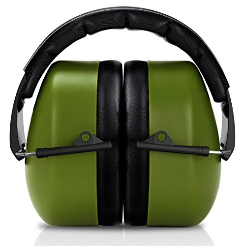 FRiEQ 37 dB NRR Sound Technology Safety Ear Muffs with LRPu Foam for Shooting